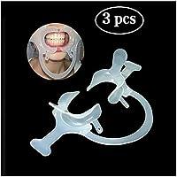 YCGJ Abridor de Boca Dental ortodoncia abrebocas para la fotografía, Mouthguard Labios Cheek Retractor Dental Lip abrebocas,3pcs