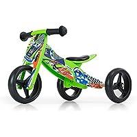 JAKE Bicicleta 2 en 1 Triciclo y bicicleta de madera, vehículo para niños con ruedas