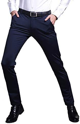 Pantaloni da Uomo Uomo Uomo Autunno e Modelli Invernali, Pantaloni Casual da Uomo d'Affari Ispessimento Slim Stretch Vestito Professionale Giovani Pantaloni Dritti Uomini,Blu,29B07KTX787CParent | Per tua scelta  | Prestazioni Superiori  | all'ingrosso  | Bella E 83e61a