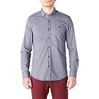AVVA Erkek Günlük Gömlekler Desenli Gömlek