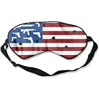 Guns And American Flags 99% Eyeshade Blinders Sleeping Eye Patch Eye Mask Blindfold For Travel Insomnia Meditation preisvergleich bei billige-tabletten.eu