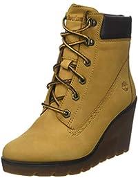 06501cf0584 Amazon.fr   Jaune - Bottes et bottines   Chaussures femme ...