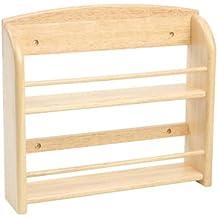 T&G Woodware Scimitar - Mensola portaspezie da parete a 2