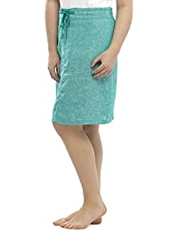 13047504e4 Womens/Ladies Summer Two Tone Linen Skirt Draw String