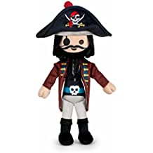 Famosa Softies - Playmobil Peluche 30 cm Capitán Pirata (760015048)