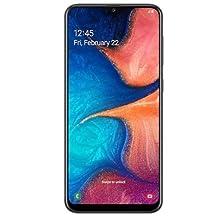 Samsung SM-A205FZKGFWD Galaxy A20 Dual SIM 32GB 3GB RAM 4G LTE - Black (Pack of 1)