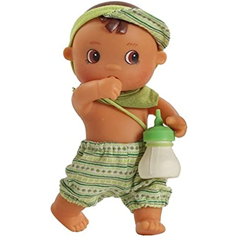 Paola Reina Los Bebes Go Potty Enzo 8.6 Drink & Wet Boy Doll (Made in Spain) by Paola Reina