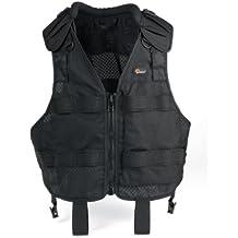 Lowepro Technical Vest (S/M) - Chaleco para fotógrafos, 600 gramos, color negro