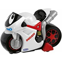 Chicco - Moto Turbo Touch Ducati Blanca