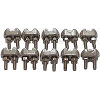 Invernadero (lote de 10) Cable 5mm estribo Inox 316–A4