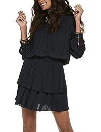 Scotch & Soda Damen Kleid Silky Layered Dress