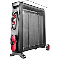 MEI XU Calentadores eléctricos Calentador eléctrico Silicon Crystal Convection Heater 2 Fuentes de alimentación Protección contra