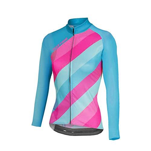 Uglyfrog Maillot de Cyclisme pour Femme Séchage Rapide Respirant Maillot de Vélo Manches Longues