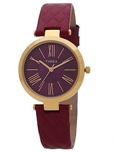 Timex Analog Gold Dial Women's Watch - TWEL11802