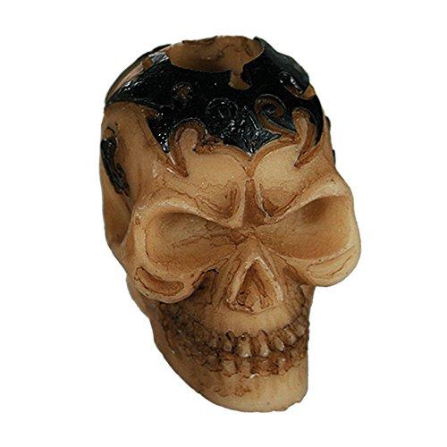 ween Gluttöter Skull- Tribal Blau   Party Zubehör   Geister   Skelett   Halloween Accessoires   Gespenst   Zombies   Grusel Deko   Party Ausstattung   Totenkopf Deko   Hänge Deko (Brauchtum Halloween Kind)