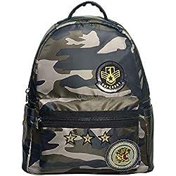 Superdry Midi Backpack, Bolso para Niño U Verde