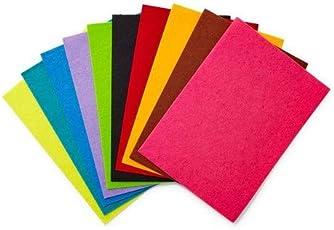 ArtBee A3 Size Colorful Felt Craft Sheets For Handmade Arts Crafts(Randomly 10pcs)