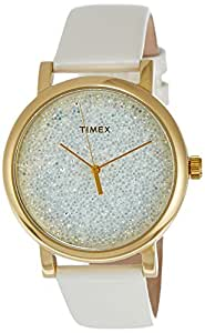 Timex Damen-Armbanduhr Timex Style Originals Classic Round Analog Quarz Leder T2P278