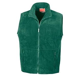 41K 4jwquDL. SS300  - Result R037X Active Fleece Bodywarmer Gilet Forest L