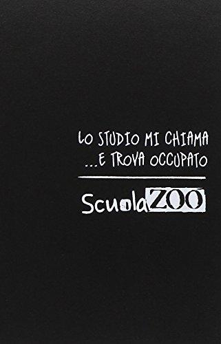 Diario Scuolazoo nero bianco datato 16 mesi cm 11x15