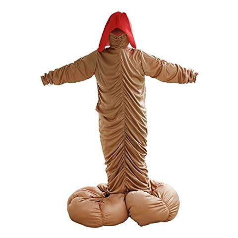 Cerf Costume Outfit - Gazechimp Nouveauté Costume de Fête Pénis Déguisement