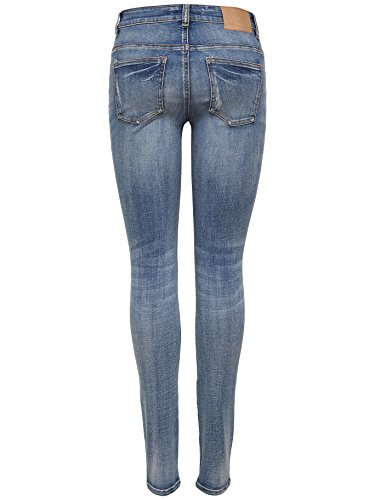 JACQUELINE de YONG Jeans Jeanshose JDYSKINNY REGULAR ACE 15151751 x Light Blue Denim