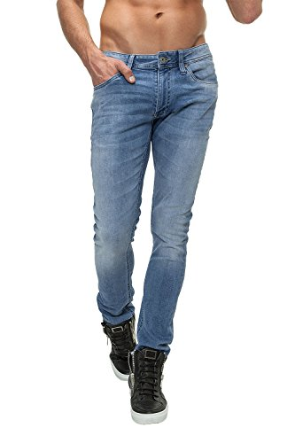 Jack & Jones Herren Jeans Liam Blue Denim