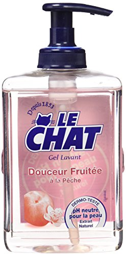 Le Chat - Gel Lavant - Douceur Fruitée - Flacon 300 ml - Lot de 2