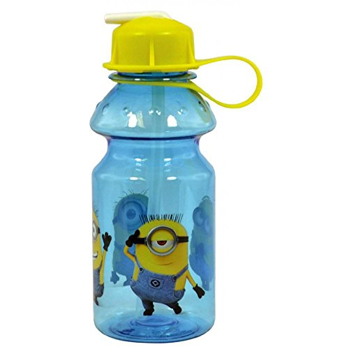 Image of Kids Minion Plastic Drink Bottle