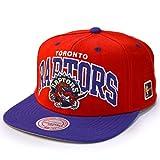 Mitchell & Ness Toronto Raptors Team Arch Snapback NBA Cap/W HWC Patch