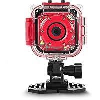 DROGRACE Children Kids Camera Waterproof Digital Video HD Action Camera 1080P Sports Camera Camcorder DV for Boys Girls Birthday Toy