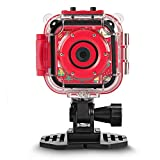 DROGRACE [Christmas Limited] Kids Camera Waterproof Action Camera 1080P Video Camcorder for Boys
