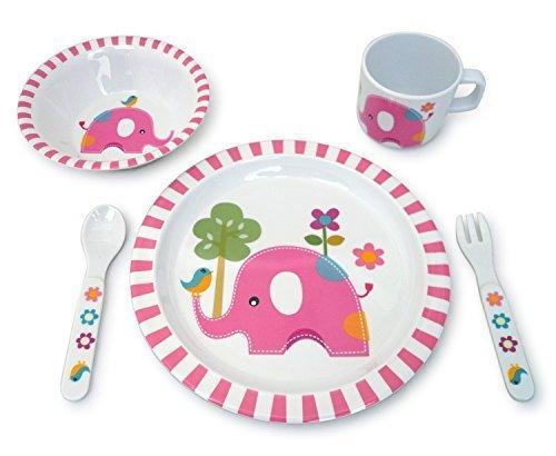 Culina® Kinder Geschirr Set - Elefanten desgin