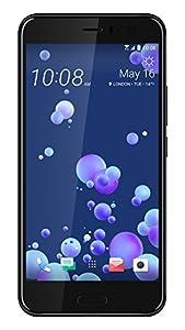 HTC U11 UK SIM-Free Smartphone - Brilliant Black