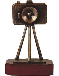 Metall-Resin Figur - (BEL200) Fotokamera