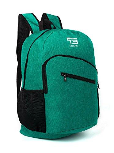 Kleinen Schwarzen Granit Top (35L TB tibag wasserabweisend leicht verstaubarer Folding Tagesrucksack Backpack, Kinder, Lpb4l-light Purpleu, dunkelgrün)