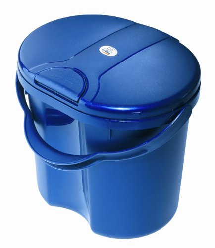 Rotho 20002 0020 - TOP Windeleimer, Farbe blueperl