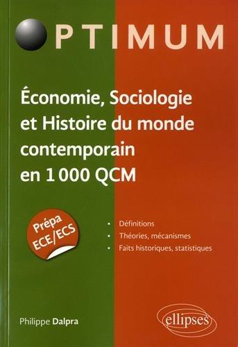 1000 QCM en ESH par Philippe Dalpra