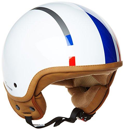 SOXON SP-301 Snow Runner Casco Demi-Jet Mofa Bobber Vespa Helmet Retro