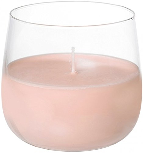 Duni Kerzengläser Ellie Sweet Pink 68x70 mm Brenndauer ca. 20 Std.