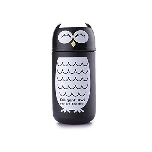 220ml Cute Panda Eule Thermos Edelstahl Vakuum Cup Travel Becher von Forest Dream Owl (Eule Thermo Becher)