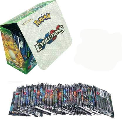 SALPITOYS Pokemon XY Evolutions Sealed Booster Box 36 Pack( 360 Cards) (Multicolor)