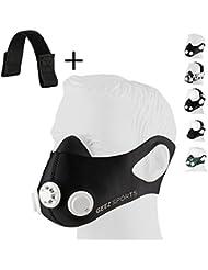 GEEZ profesionelle Trainingsmaske für Höhentraining - steigerung der körperlichen Fitness Atemmaske Trainings Maske training Mask