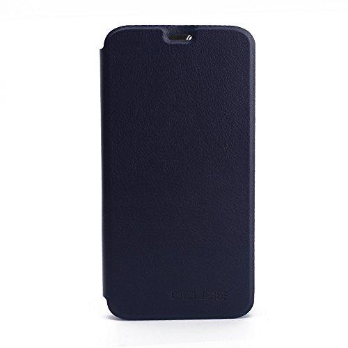 Handyhülle für Oukitel U22 95street Schutzhülle Book Case für Oukitel U22, Hülle Klapphülle Tasche im Retro Design mit Praktischer Aufstellfunktion - Etui Blau
