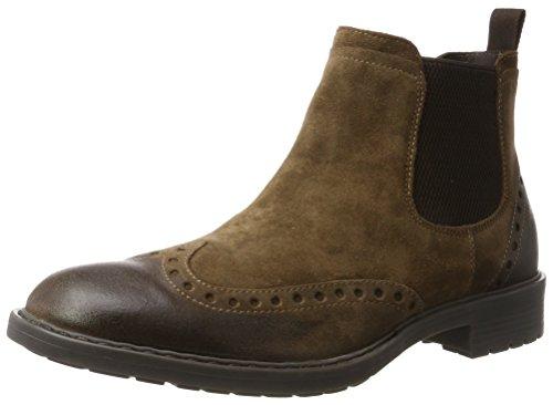 Geox U743PD00023 Herren Chelsea Boots, Braun (Ebony), 42 EU