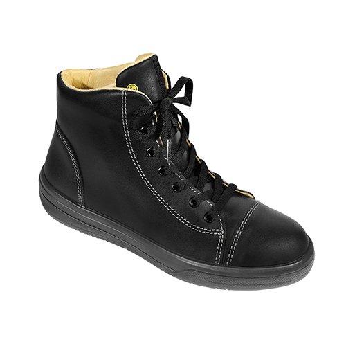 Elten 74251-38 Vintage Lady Black Mid Chaussures de sécurité ESD S3 Taille 38