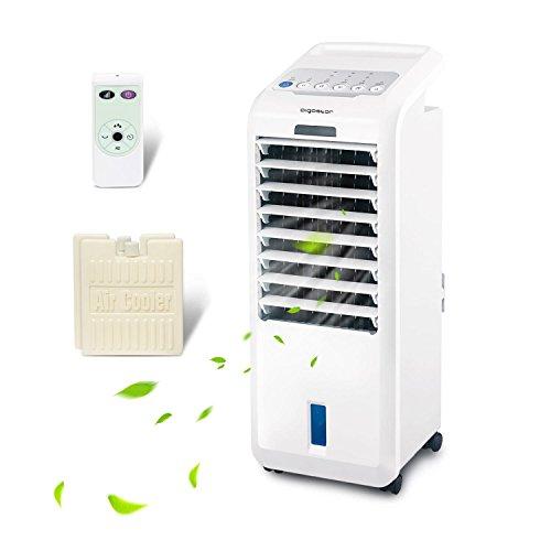 Aigostar Koud 33JTL, raffrescatore evaporativo da 55 watt con serbatoio da 5 litri