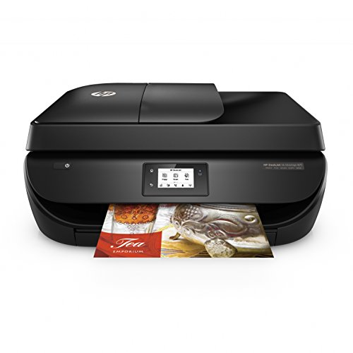 HP DeskJet Ink Advantage 4675 All-in-One InkJet Printer (Black)