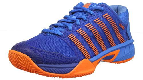 K-Swiss Performance Hypercourt Express HB Scarpe da Tennis Bambino, Blu (Brilliant Blue/Orange 427M) EU