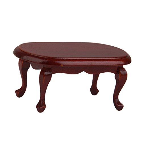 1:12 Casa Delle Bambole Tavolino Da Caffè